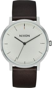 Nixon Porter Leather A1058-104 Herrenarmbanduhr