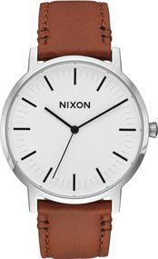 Nixon Porter Leather A1058-2442 Herrenarmbanduhr
