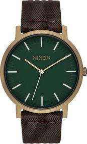Nixon Porter Leather A1058-2852 Herrenarmbanduhr