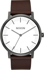 Nixon Porter Leather A1058-2368 Herrenarmbanduhr