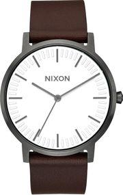 Nixon Porter Leather A1058-2368 Herrenarmbanduhr