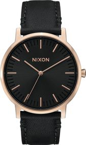 Nixon Porter Leather A1058-1098 Herrenarmbanduhr