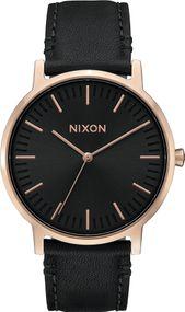 Nixon Porter Leather A1058-1098 Herrenarmbanduhr