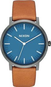 Nixon Porter Leather A1058-2854 Herrenarmbanduhr
