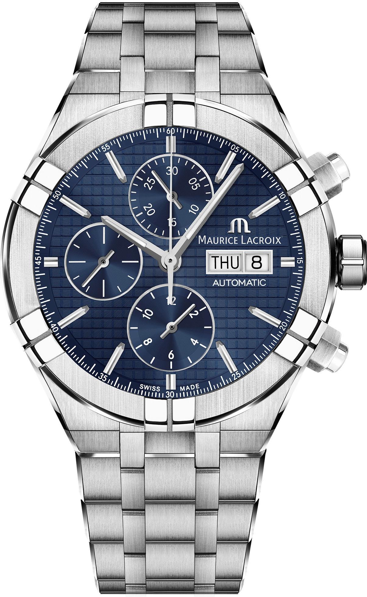 430 Herren Automatikchronograph Aikon Ss002 1 Lacroix Automatic Ai6038 Maurice Chronograph QdoreECxBW