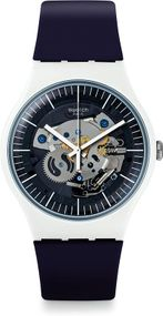 Swatch New Gent Lacquered SILIBLUE SUOW156 Herrenarmbanduhr