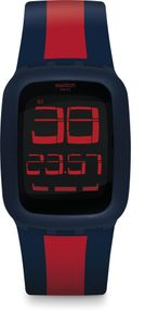 Swatch Swatch Touch SWATCH TOUCH DARK BLUE & RED SURN101D Unisex Digitaluhr