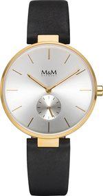 M&M Metal Flat M11923-432 Damenarmbanduhr