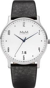 M&M Flat Line  M11940-443 Herrenarmbanduhr