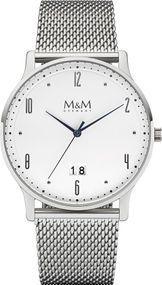 M&M Flat Line  M11940-143 Herrenarmbanduhr