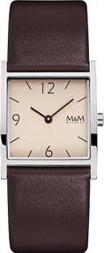 M&M Basic Square M11917-547 Damenarmbanduhr