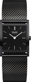 M&M Basic Square M11917-885 Damenarmbanduhr