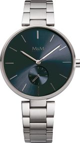 M&M METAL FLAT M11923-145 Damenarmbanduhr