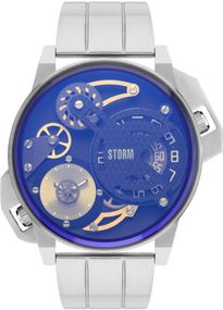 Storm London DUALMATION LAZER BLUE 47410/LB Herrenarmbanduhr
