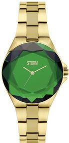 Storm London CRYSTANA GOLD GREEN 47254/GN Damenarmbanduhr