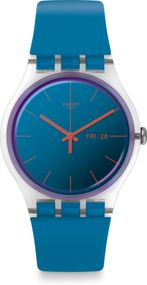 Swatch New Gent POLABLUE SUOK711 Herrenarmbanduhr
