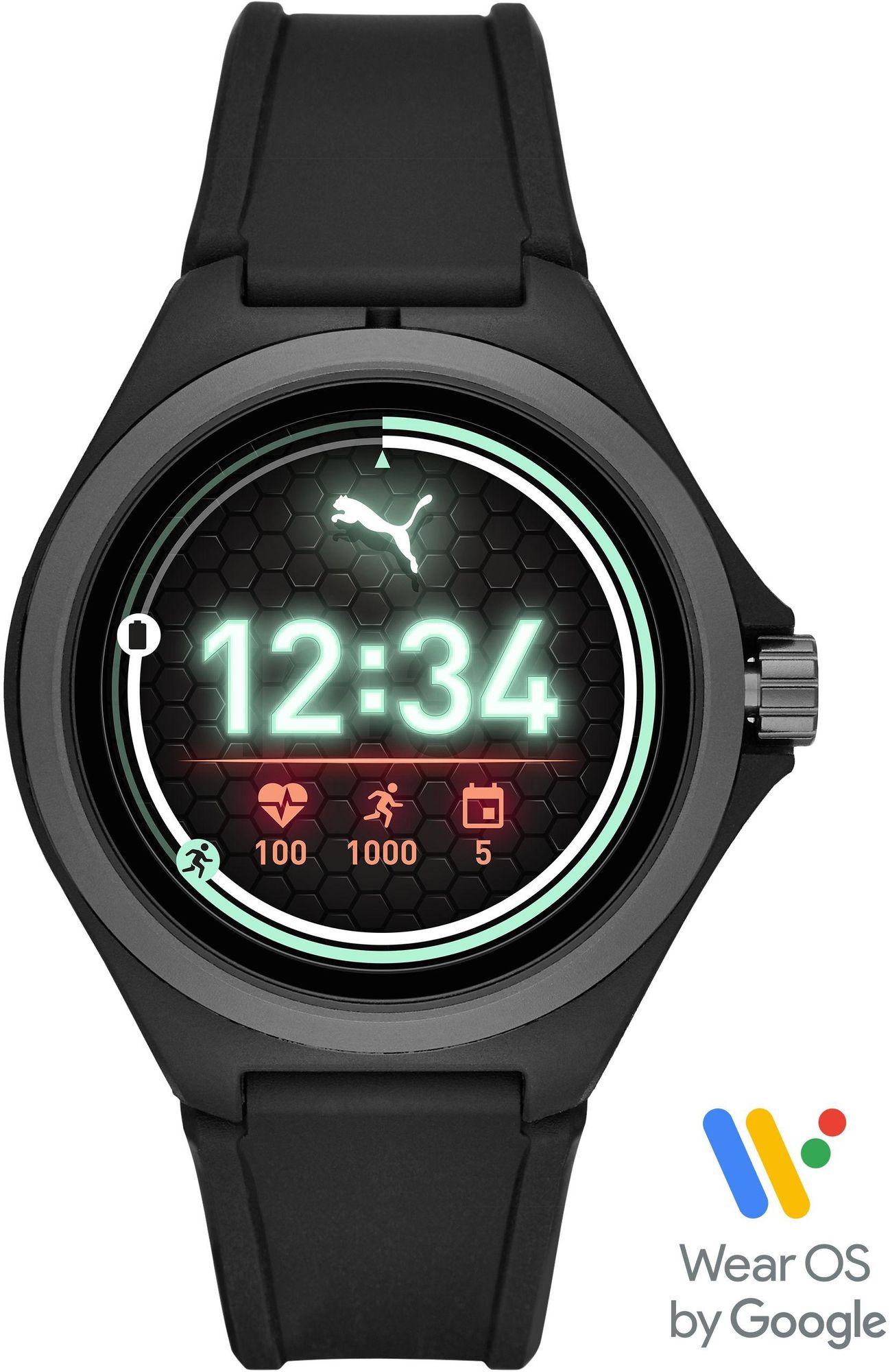 PUMA Smartwatches PUMA Time PUMA SMARTWATCH PT9100 Smartwatch Herzfrequenz
