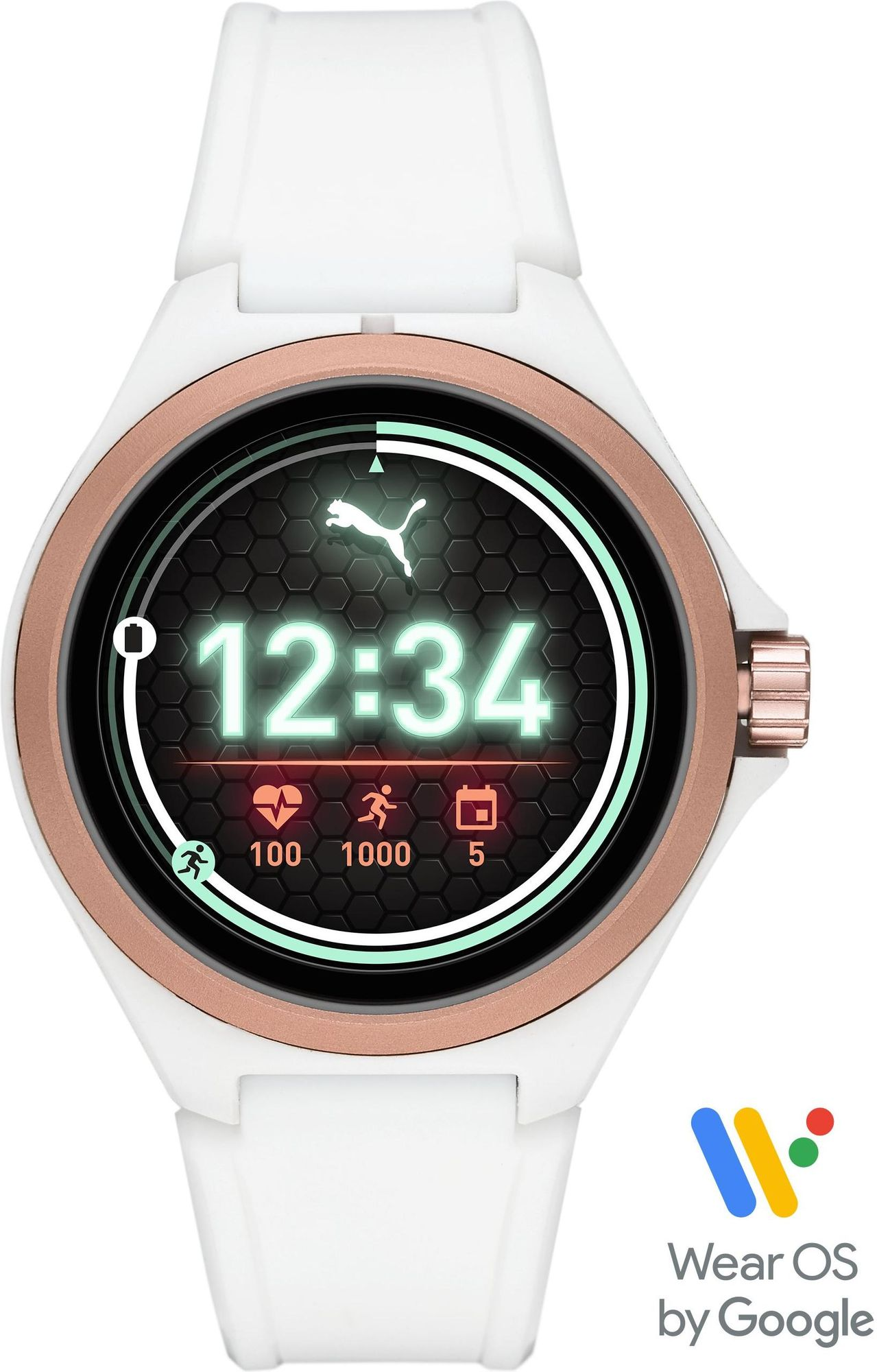 PUMA Smartwatches PUMA SMARTWATCH PT9102 Smartwatch Herzfrequenz