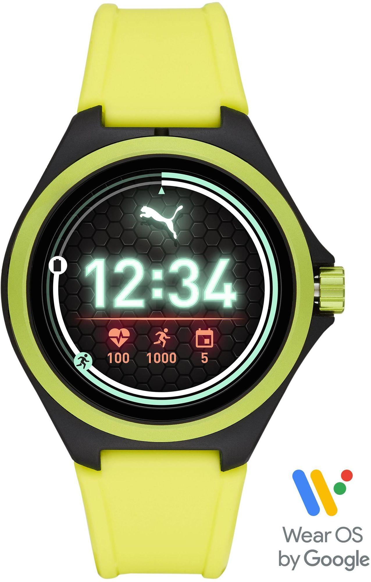 PUMA Smartwatches PUMA Time PUMA SMARTWATCH PT9101 Smartwatch Herzfrequenz