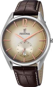 Festina Classic F6857/2 Herrenarmbanduhr Sehr gut ablesbar