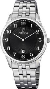 Festina Classic F6856/4 Herrenarmbanduhr Klassisch schlicht