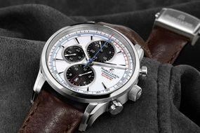 Maurice Lacroix Pontos PT6288-SS001-130 Herren Automatikchronograph Massives Gehäuse
