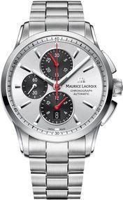 Maurice Lacroix Pontos PT6388-SS002-131-1 Herren Automatikchronograph Massives Gehäuse