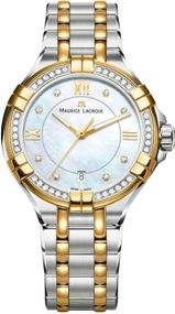 Maurice Lacroix AIKON AI1006-DY503-171-1 Damenarmbanduhr Design Highlight