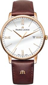 Maurice Lacroix Eliros EL1118-PVP01-112-1 Herrenarmbanduhr flach & leicht