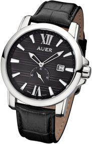 AUER Classic Collection ZU-1139-BDBB Herrenarmbanduhr Swiss Ronda