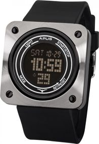 APUS Kappa Black AS-KP-BB Digitaluhr Touch Screen