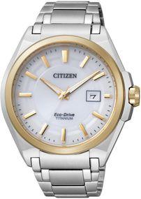 Citizen Super Titanium BM6935-53A Elegante Herrenuhr Eco-Drive