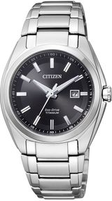 Citizen Super Titanium EW2210-53E Elegante Damenuhr Eco-Drive