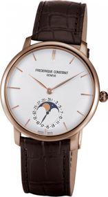 Frederique Constant Geneve Manufacture Moonphase FC-705V4S4 Herren Automatikuhr Manufakturkaliber