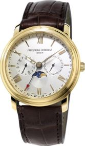 Frederique Constant Geneve Classic Business Timer FC-270SW4P5 Herrenarmbanduhr Sehr gut ablesbar
