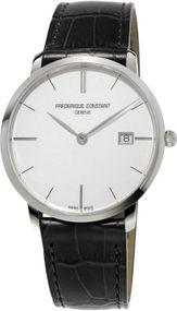 Frederique Constant Geneve Slimline Gents FC-220S5S6 Herrenarmbanduhr flach & leicht