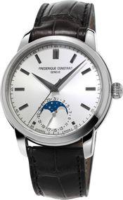 Frederique Constant Geneve CLASSIC MOONPHASE MANUFACTURE FC-715S4H6 Elegante Herrenuhr Manufakturkaliber