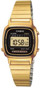 Casio Collection LA670WEGA-1EF Digitaluhr für Damen Retro