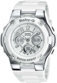 Casio Baby-G BGA-110-7BER Digitaluhr für Kinder stoßresistent