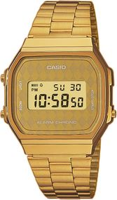 Casio Collection A168WG-9BWEF Digitaluhr für Herren Retro