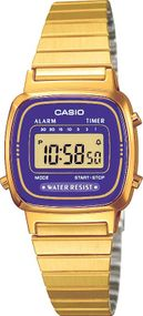 Casio Collection CALA670WEGA-6EF Digitaluhr für Damen Retro