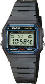 Casio Collection F-91W-1YEF Digitaluhr für Herren Retro