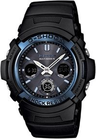 Casio G-Shock G-Shock AWG-M100A-1AER Sportliche Herrenuhr Multiband 6 & Solar