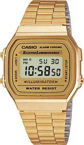 Casio Collection A168WG-9EF Digitaluhr für Herren Retro
