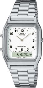 Casio Collection AQ-230A-7BMQYES Legere Herrenuhr 2. Zeitzone
