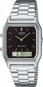 Casio Collection AQ-230A-1DMQYES Legere Herrenuhr 2. Zeitzone