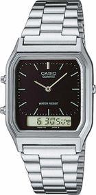 Casio Collection AQ-230A-1DMQYES Legere Herrenuhr 2. Zeitzone