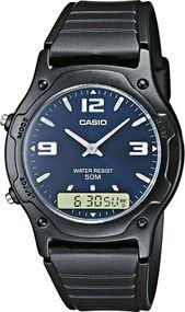 Casio Collection AW-49HE-2AVEF Legere Herrenuhr 2. Zeitzone