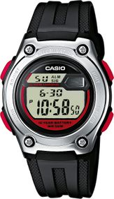 Casio Collection W-211-1BVES Unisex Digitaluhr Mit Beleuchtung