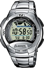 Casio Collection W-753D-1AVES Digitaluhr für Herren 10 Jahre Batterielaufzeit